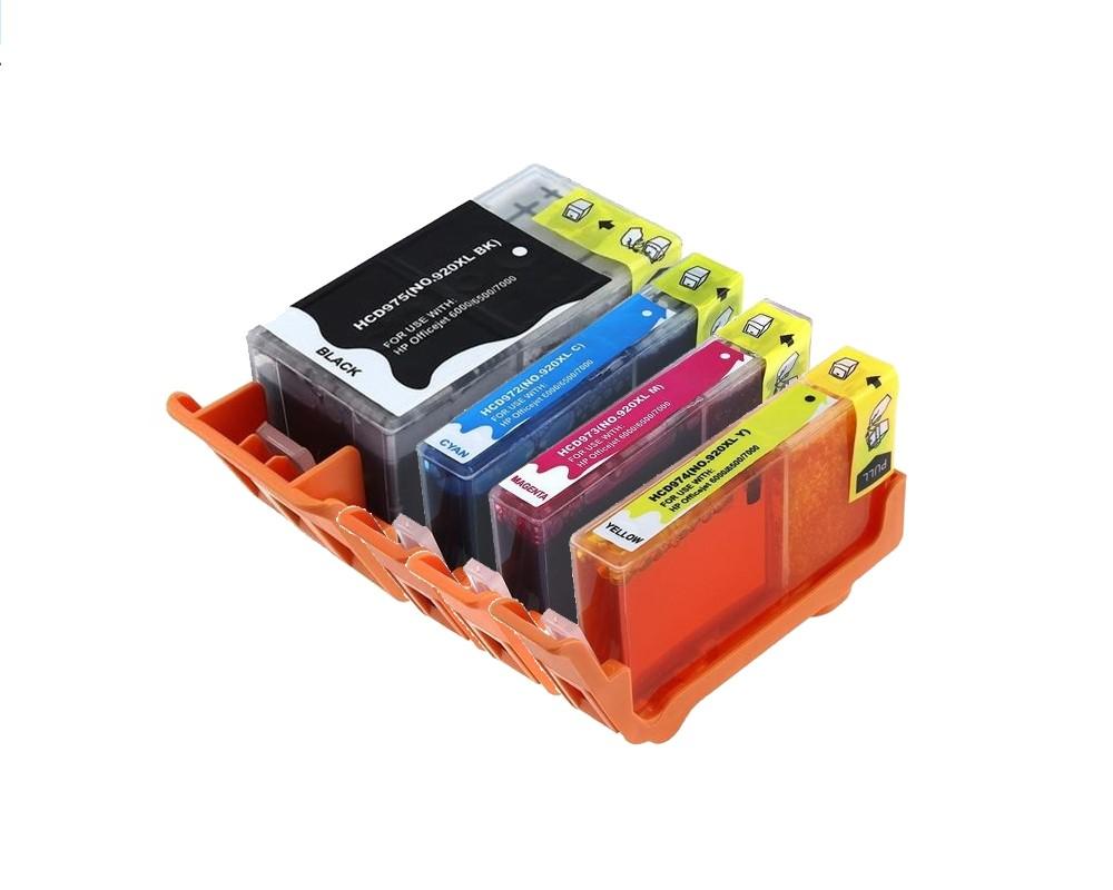hp 920xl multipack zwart 3 kleuren inkt cartridges huismerk incl chip. Black Bedroom Furniture Sets. Home Design Ideas